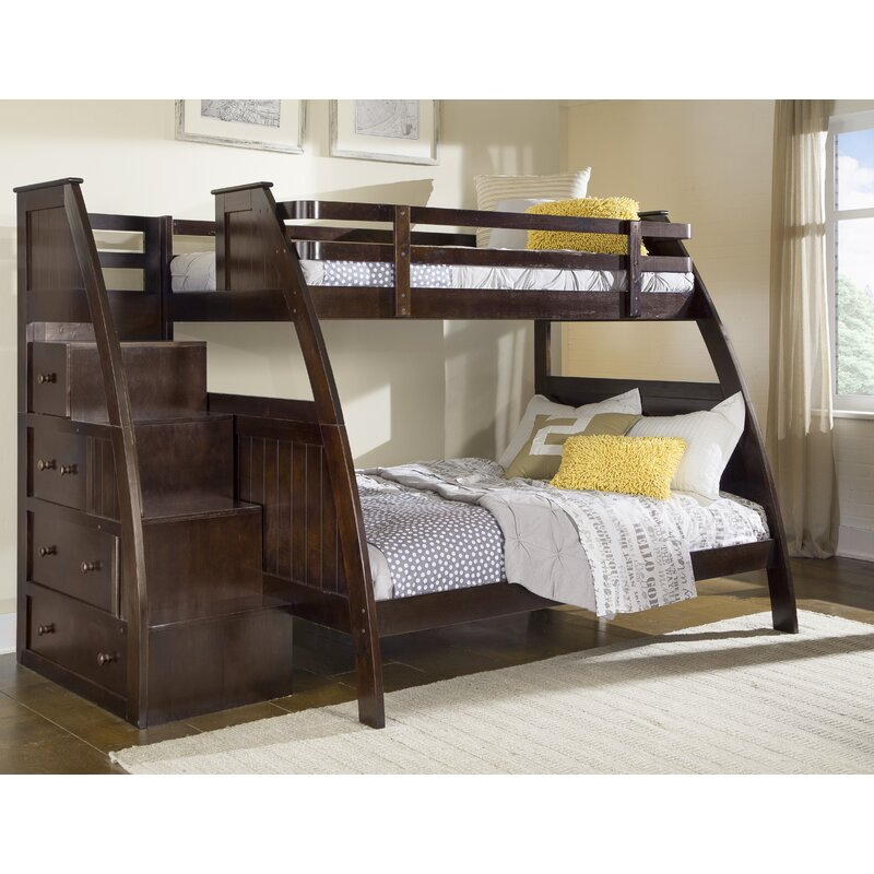Better Homes Gardens Sebring Twin Over Twin Bunk Bed With Storage