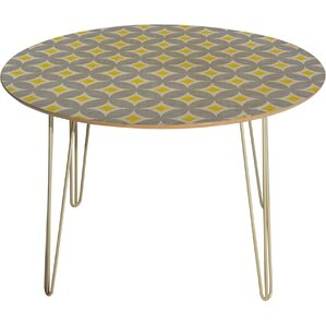 Holli Zollinger Diamond Circles Dining Table by Deny Designs