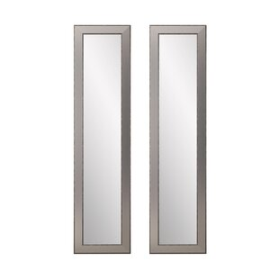 Charlton Home Vinson Full Length Mirror (Set of 2)