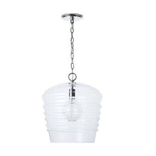 Shandi 1-Light Bell Pendant by Wrought Studio