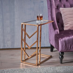 Denison Glam End Table by Merc..