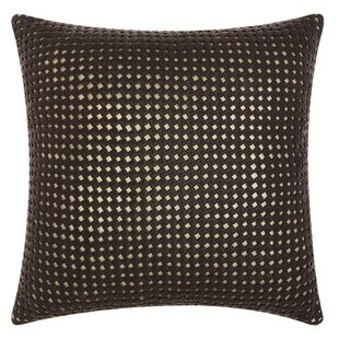 Nevius Leather Throw Pillow