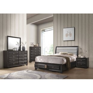 Adrianah King Platform Configurable Bedroom Set