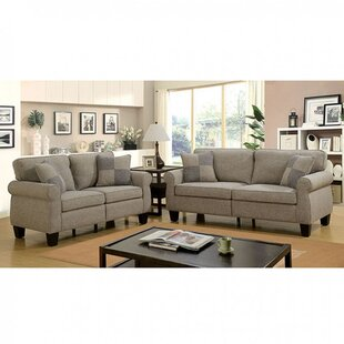 Online Reviews Elmhur Configurable Living Room Set by Darby Home Co Reviews (2019) & Buyer's Guide