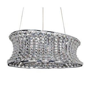 Allegri by Kalco Lighting Corsette 12-Light Crystal Chandelier