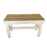 Doher Solid Wood Bench by Gracie Oaks