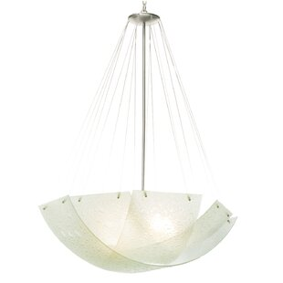 Kalco Cirrus 5-Light Bowl Pendant