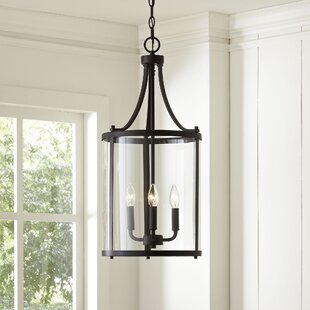 kitchen lighting chandelier industrial northport 3light lantern chandelier farmhouse chandeliers birch lane
