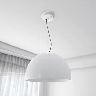 Everly Quinn Lilburn 1-Light Dome Pendant