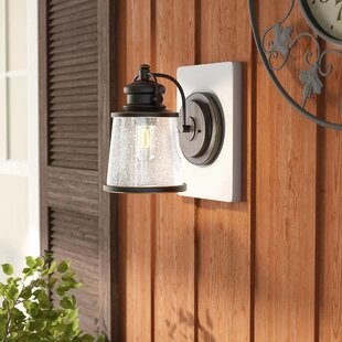 Buy luxury Tewkesbury 1-Light Outdoor Wall Lantern By Three Posts