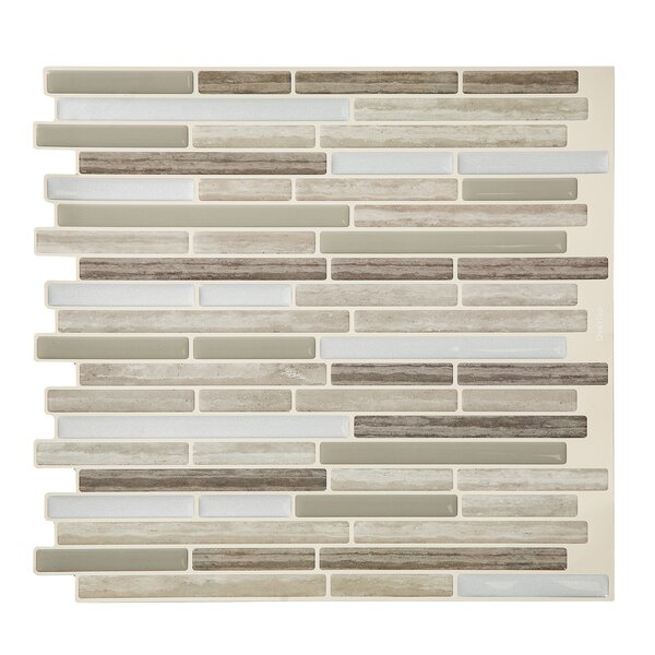 Tacktile 10 X 12 Pvc Peel Stick Mosaic Tile Wayfair