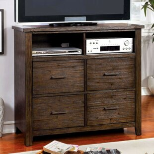 Weyant Wooden Media 4 Drawer Chest