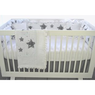 Find for Varela Stars Love You To The Moon 3 Piece Crib Bedding Set By Harriet Bee