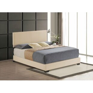Hawks Upholstered Panel Bed by Latitude Run #2