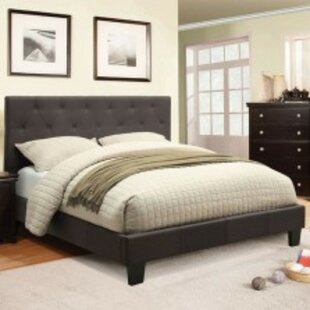Amesfield Padded Fabric Upholstered Platform Bed by Brayden Studio