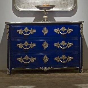 Leonetti 3 Drawer Dresser by Astoria Grand Cool