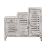 Jonas Shutter 3 Drawer Accent Cabinet by Ophelia & Co.