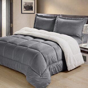 Charlton Home Abbey Box Reversible Comforter Set