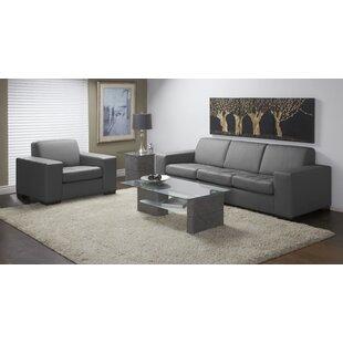 Wenlock 2 Piece Leather Living Room Set by Orren Ellis