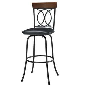 Charry Adjustable Height Bar Stool (Set of 3) by Darby Home Co