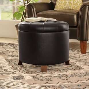 Affordable Barron Storage Ottoman By Three Posts
