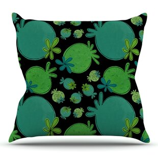 Garden Pods By Jane Smith Outdoor Throw Pillow by East Urban Home