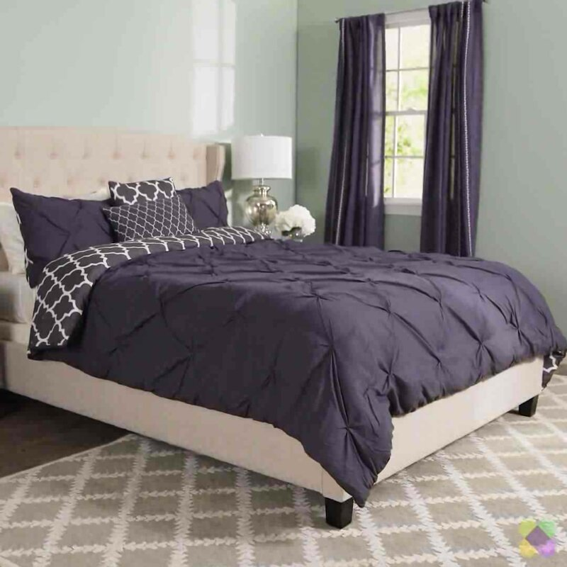 florence chambray blue foot latest piece comforter set bedding waterford reversible sets face products