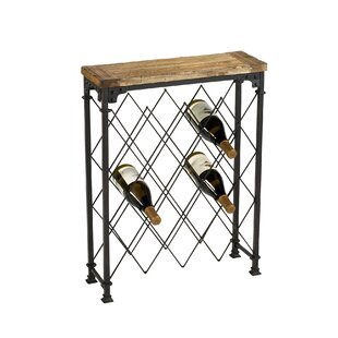 Hudson 9 Bottle Floor Wine Rack by Cyan D..