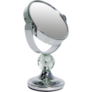 Reviews Mini Me Glamour Makeup/Shaving Mirror By Wildon Home ®