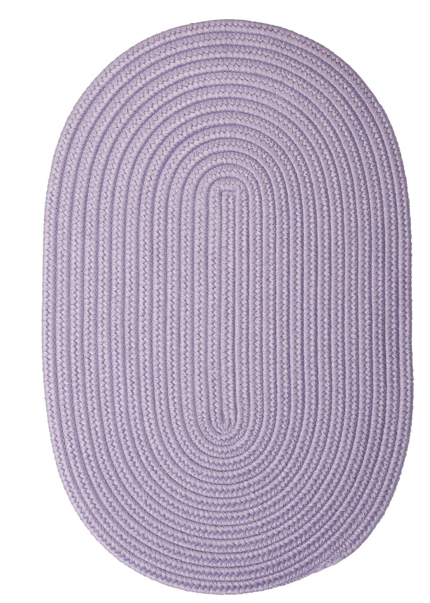 Winston Porter Mcintyre Braided Purple Area Rug Reviews Wayfair