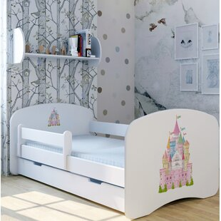 Castle Kunterbund Bed With Mattress And Drawer By Zoomie Kids