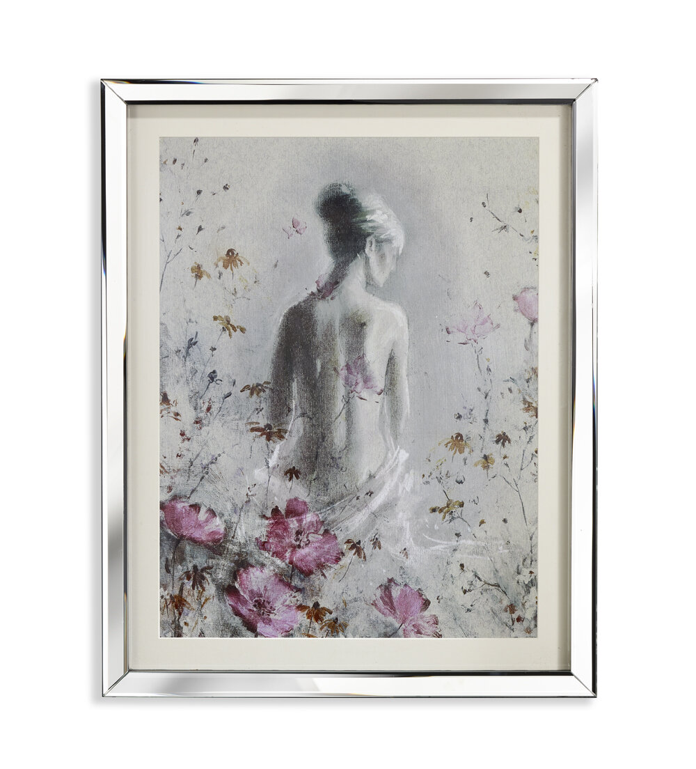 Arthouse Isabelle Mirror Framed Art Print & Reviews | Wayfair.co.uk