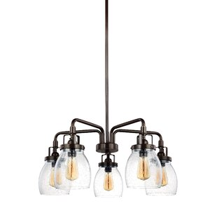Trent Austin Design Panorama Point 5-Light Semi Flush Mount