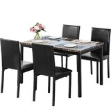 Bhreagha 5 - Piece Dining Set by Latitude Run®
