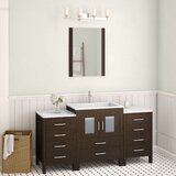 Stanardsville 60 Single Bathroom Vanity Set with Mirror by Brayden Studio®