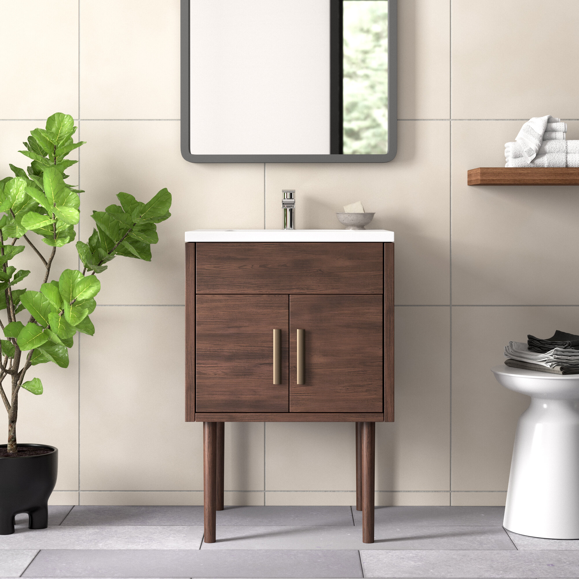 Emily Garland 24 Single Bathroom Vanity Set