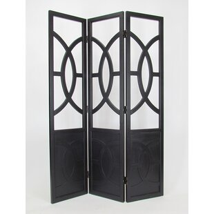 Darby Home Co Ivory Screen 3 Panel Room Divider