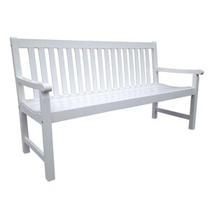 Ardlow Wooden Bench By Sol 72 Outdoor