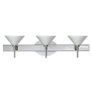 Bargain Kona 3-Light Vanity Light By Besa Lighting