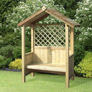 Vermehr  Wooden Arbour By Sol 72 Outdoor