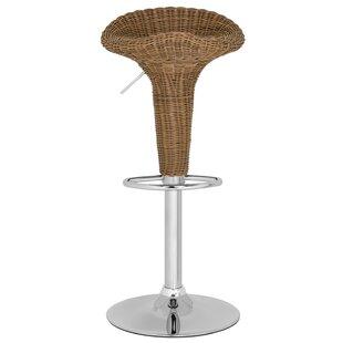 Safavieh Moesha Adjustable Height Swivel Bar Stool