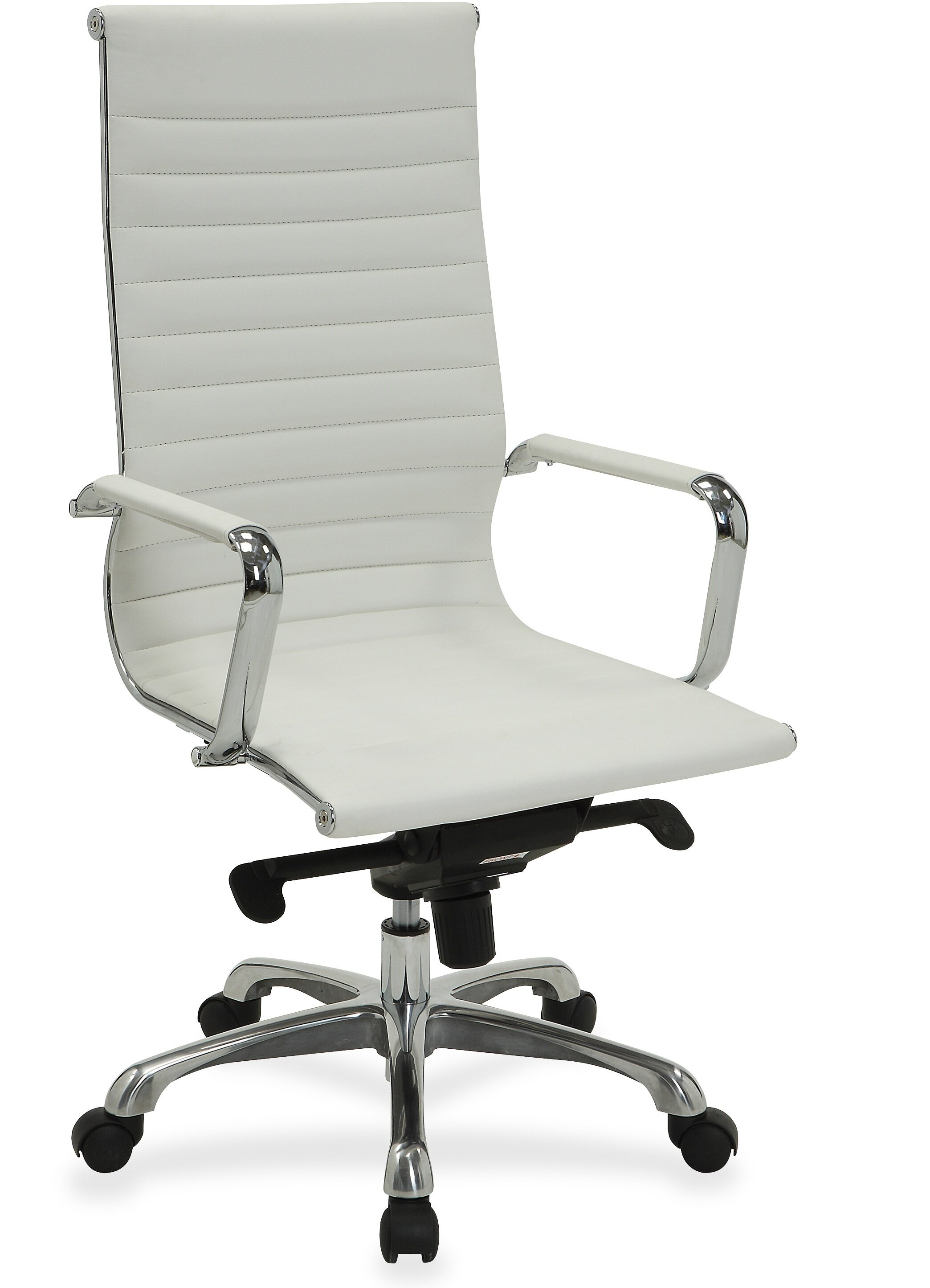 Lorell Modern High Back Leather Executive Chair | Wayfair