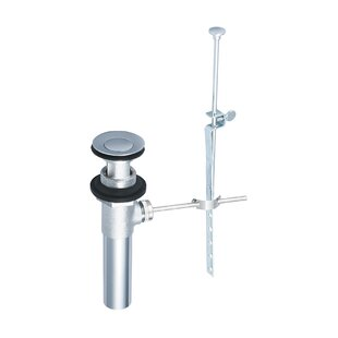 Olympia Faucets Pop-Up Bathroom Sink Drain With Overflow