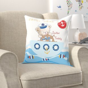 Teddy Bear Pillow Wayfair