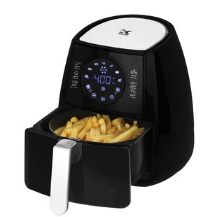 3.2Qt. Digital Air Fryer with Baking Pan and Pie Pan