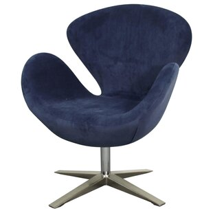 Brayden Studio Leddy Swivel Lounge Chair