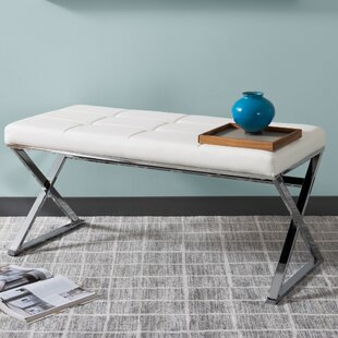 Orren Ellis Onya Modern X Shaped Bench