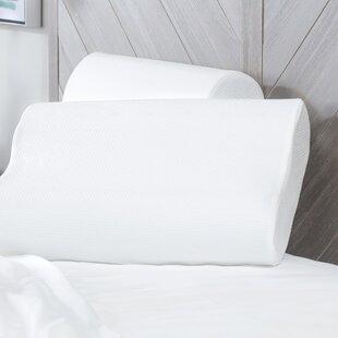 Alwyn Home Gittens Classic Contour Memory Foam Bed Pillow (Set of 2)