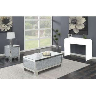 Rosdorf Park Mabini 2 Piece Coffee Table Set