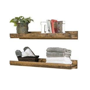 Union Rustic Oconner Floating Shelf (Set ..